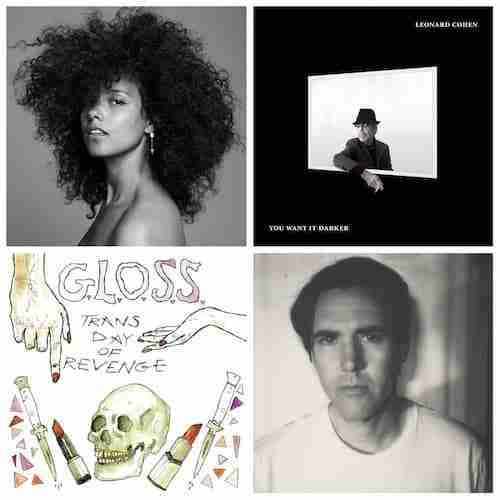 New Music : Alicia Keys, Leonard Cohen, GLOSS, Cass McCombs