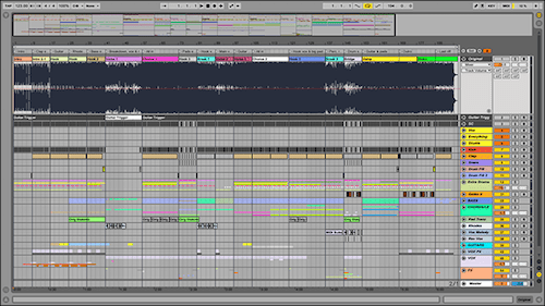 how to move things on the timeline ableton