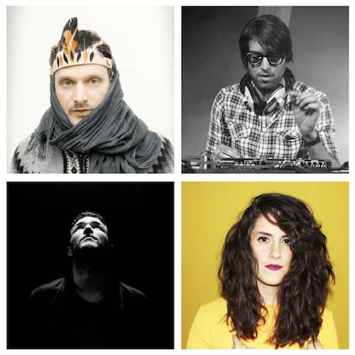 Shanti Celeste, DJ Koze, Traumer, Erol Alkan
