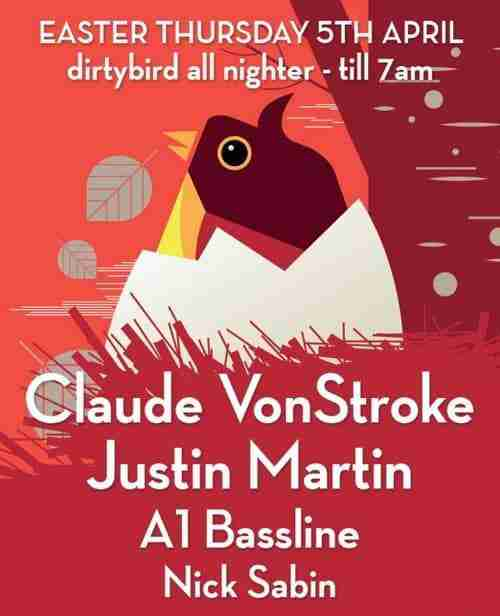 Win 2 Tickets to Dirtybird Hatched @ Audio, Brighton