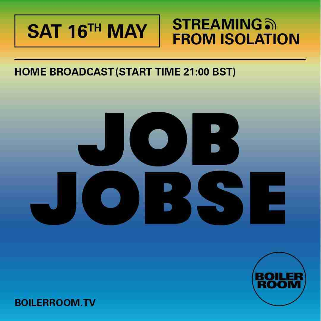 Job Jobse - Boiler Room 2020