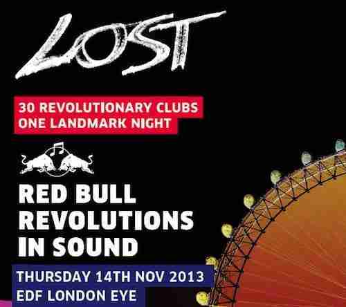 Red Bull Revolutions In Sound (The EDF London Eye) Q&A with……. 'Lost'