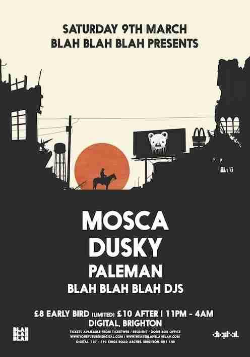 Mosca+Dusky Poster