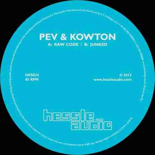 Peverelist & Kowton – Raw Code / Junked (HES 024)