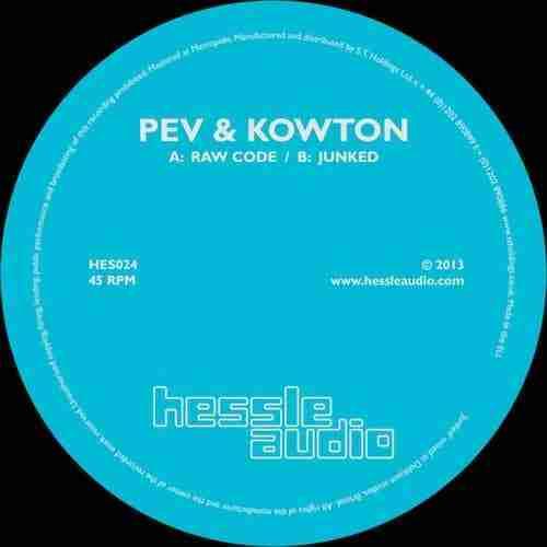 Peverelist & Kowton – Raw Code / Junked (HES 024)