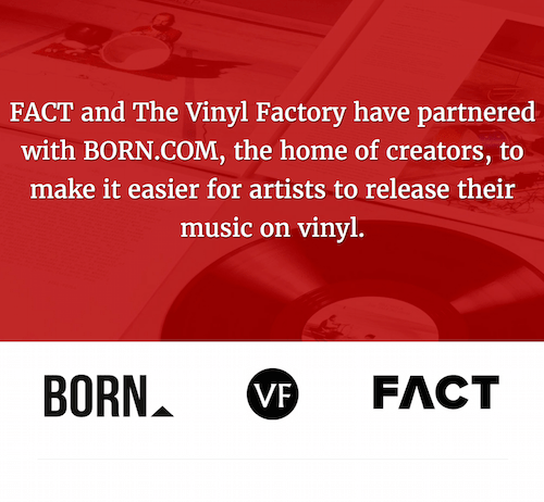 Get your TUNES pressed on VINYL for free with 'VF Selects'