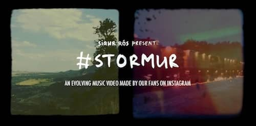 Sigur Ros – #Stormur (Ever Evolving Instagram Video)