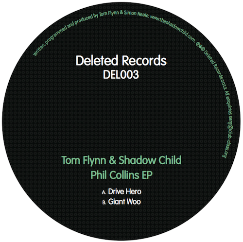Tom Flynn & Shadow Child – Phil Collins EP (Deleted Records)