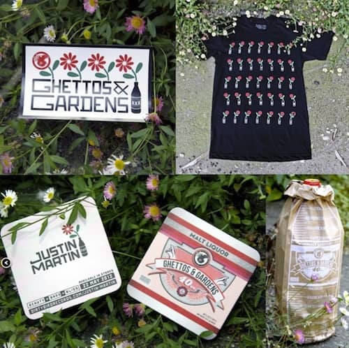 WIN – Justin Martin 'Ghettos & Gardens' Swag – CLOSED