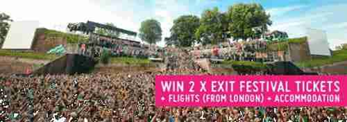 Exit Festival Treasure Hunt – Today's Clue